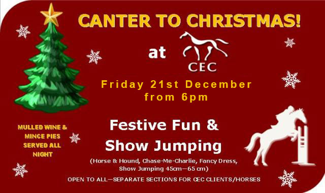 Canter to Christmas at  Caistor Equestrian Centre
