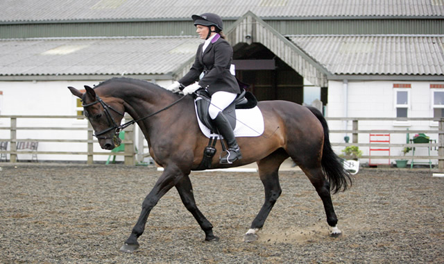 Evening Dressage on 12th May 2017 at Caistor Equestrian Centre