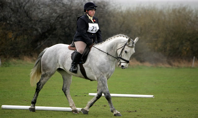 Dressage on Grass at Caistor Equestrian Centre