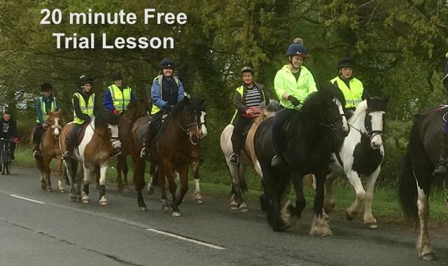 Clain a free 20 minute lesson at Caistor Equestrian Centre
