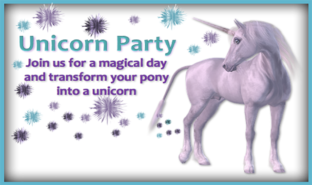 Unicorn Party at Caistor Equestrian Centre